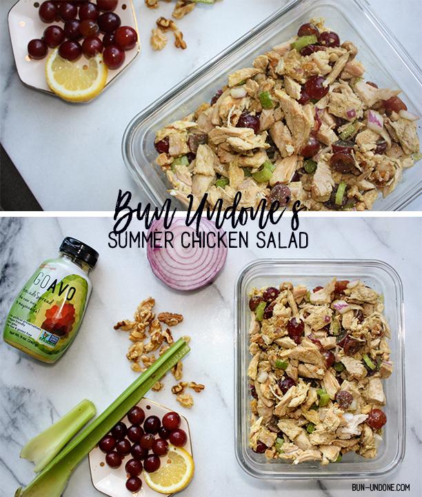 Bun Undone Summer Chicken Salad